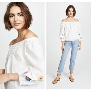 Madewell off shoulder top